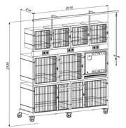 Модульные клетки для животных