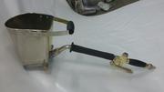 Хоппер ковш штукатурный  (пневматическая штукатурная лопата стеновая)