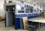 Автоматический плосковысекательный пресс SANWA ( Япония)